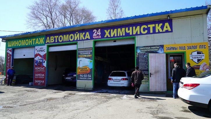 Рейд по незаконным строениям в Хабаровске
