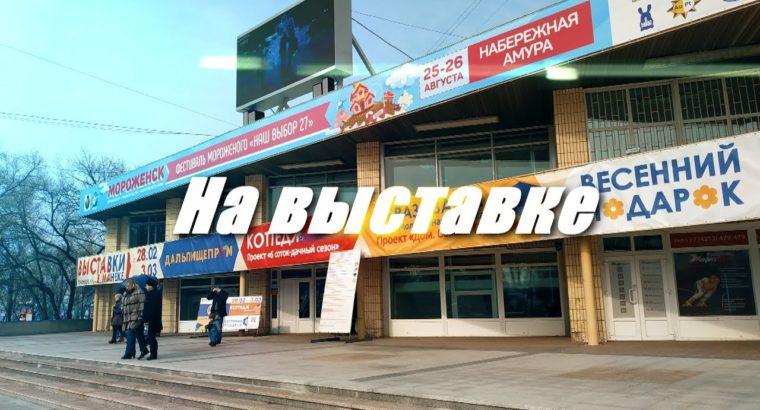 Выставка в Манеже. Хабаровск.
