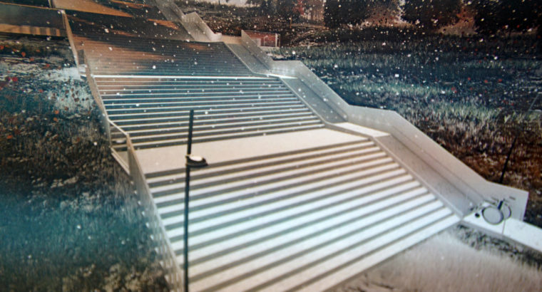 Проект реконструкции «тургеневской лестницы» в Хабаровске выносится на общественные слушания