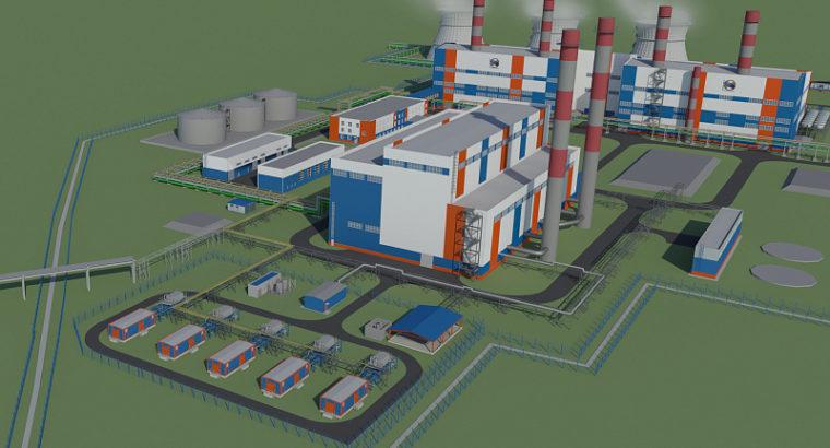 В  Хабаровске построят ТЭЦ-4 .  Сдача запланирована на 2025 год.