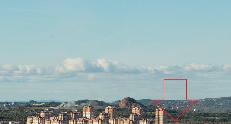 Планы на строительство в районе Ореховой сопки в Хабаровске.