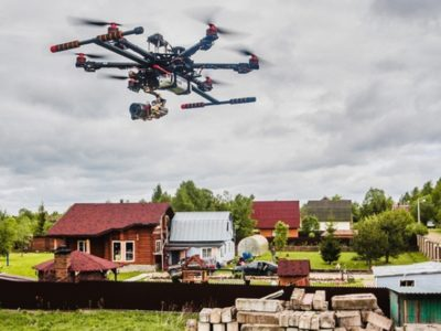 К вам едет земнадзор. Хабаровский земнадзор получил в свое распоряжение беспилотный летательный аппарат.