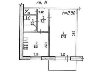 Продам однокомнатную квартиру по ул. Вологодская, д. 18а