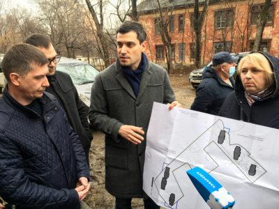 В Хабаровске построят шесть домов для переселения граждан из ветхих домов на улице Аэродромной.