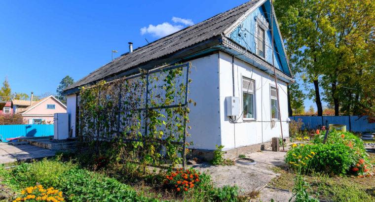 Благоустроенный дом с ухоженным участком