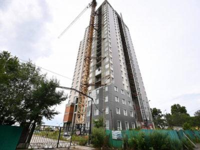 Выделили финансы для завершения строительства трех домов ООО  «ДИАЛОГ» в Хабаровске.