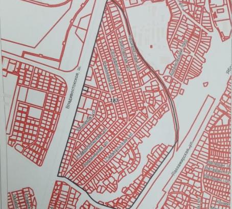 Участок ИЖС в г. Хабаровск на красной линии